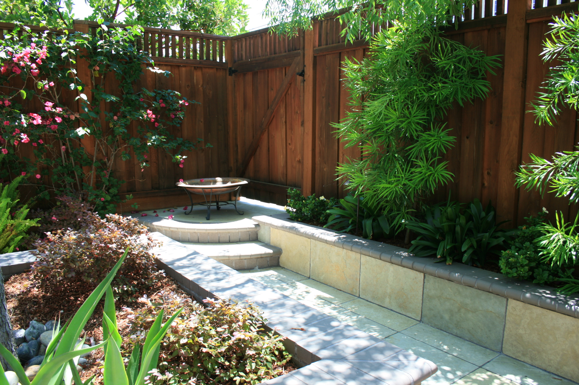 Tropical oasis san carlos gardenworks residential for Residential landscaping